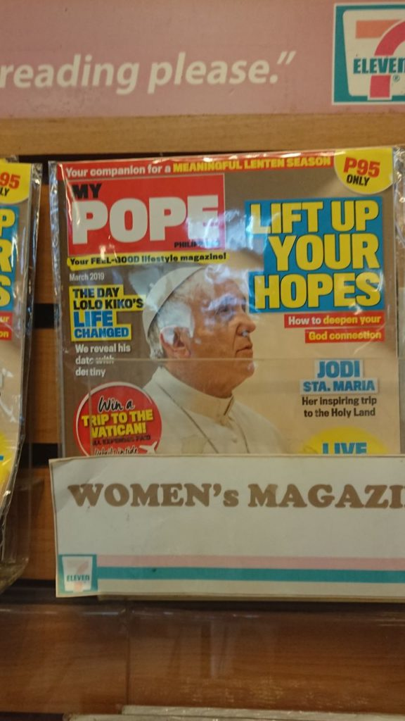 my-pope-czasopismo-filipiny